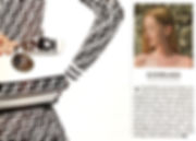 Liv Luttrell twist earrings featured in the Telegraph