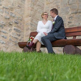 Hochzeit  auf der Burg in Neuhaus-Schierschnitz