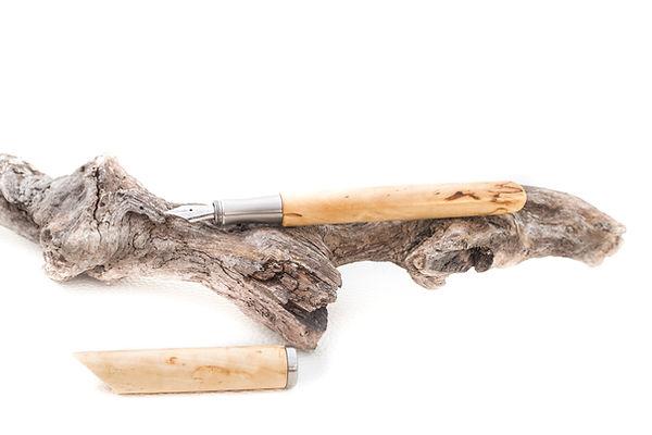 gedrechselter Holzfüller