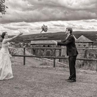 Hochzeit  auf der Festung Rosenberg in Kronach