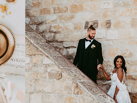 How to prep your wedding day details for photos