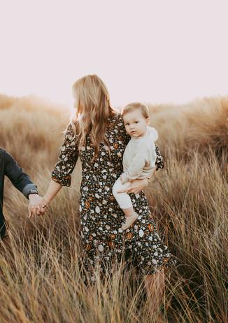 Sonoma Coast Bodega Dunes Family Photo Session