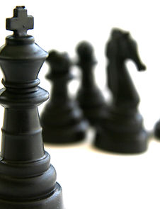 Черные Шахматные фигуры