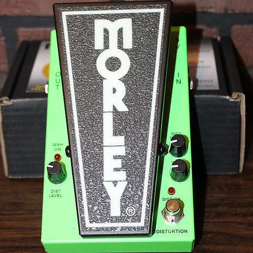 Morley 20/20 Distortion Wah Green