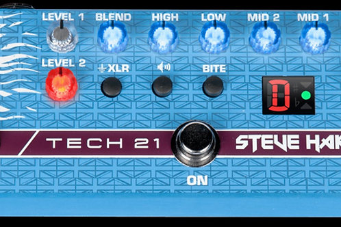 Tech 21 Steve Harris SH1 Signature SansAmp - Bass Pre-amp Pedal