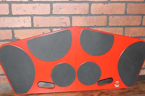 Cardinal Percussion Tenor Pad-6 Folding Red