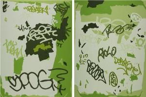 Green Diptych