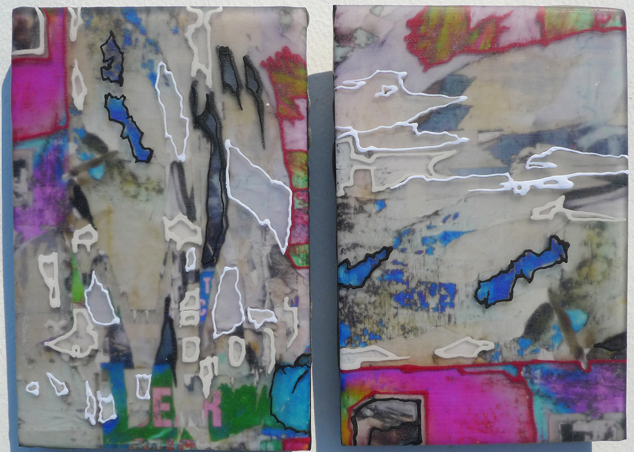 Untitled (Shred Micro Diptych))