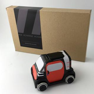 AMI ONE, le nouveau concept-car de Citroën au format Autogami