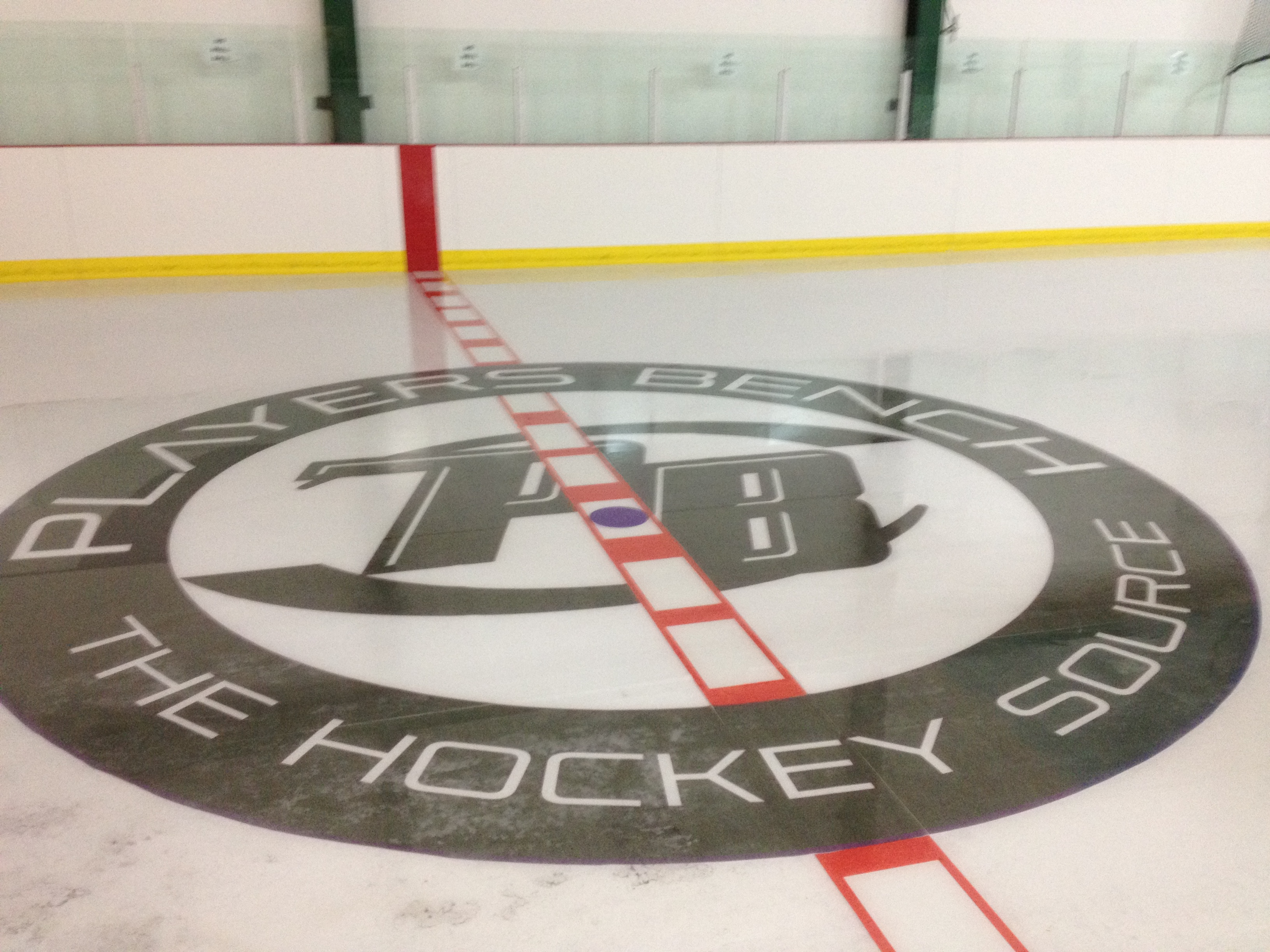 ice rink decals
