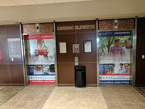 wrapped elevator doors