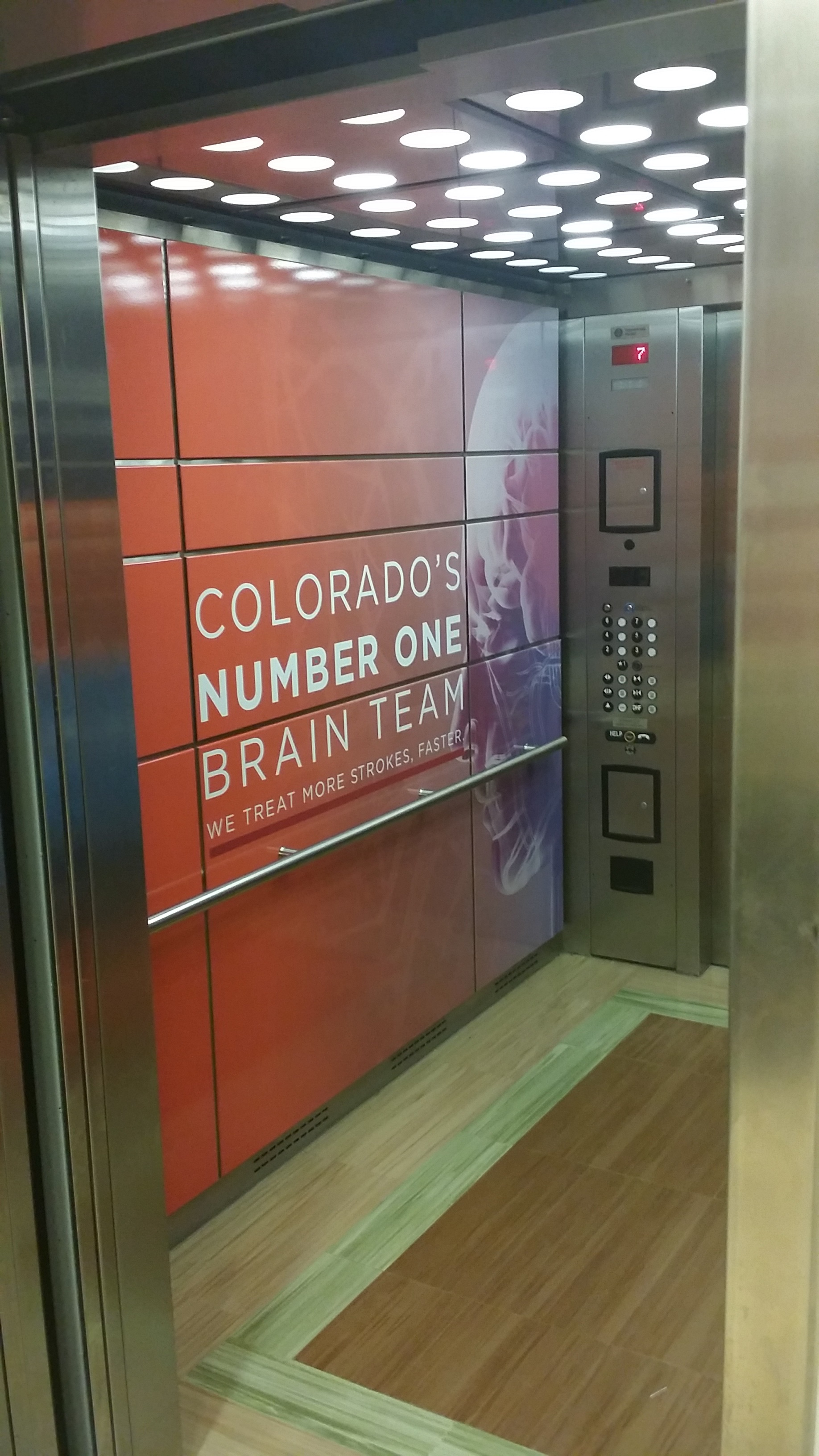 elevator wall wrap