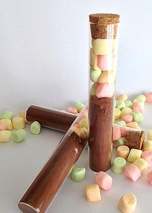 Tube ChocoDuo - Kit Chocolat chaud Monbana pour 2