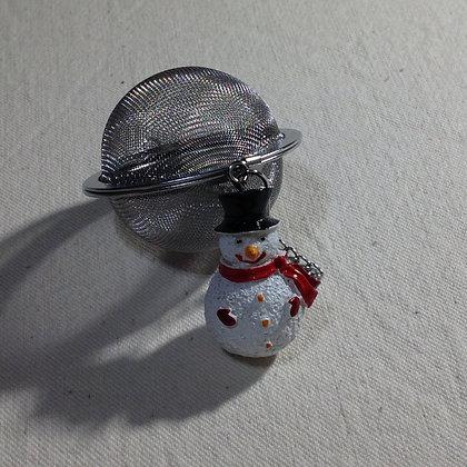 Infuseur Noël Bonhomme de neige