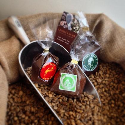 3 Echantillons de Café