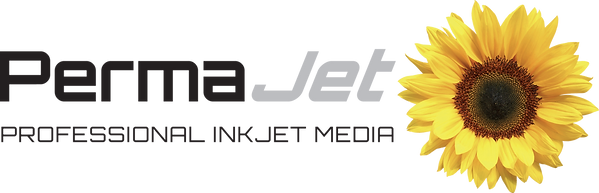 PermaJet Logo - Black Text No Background