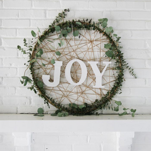 Christmas Decor - DIY - Giant Christmas Wreath