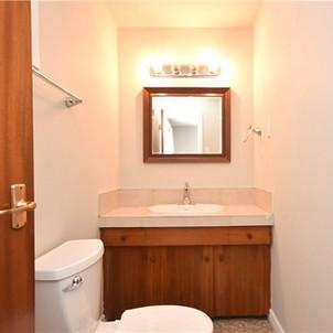 Interior View - Ensuite Bathroom Before