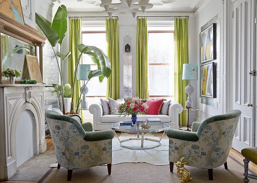 Move Furniture Away From Walls ~ Floating furniture away from the walls creates more intimate seating. All you have to do is off-set your furniture (a few inches) to totally transform the feel in the room.