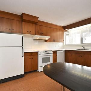 Interior View - Kitchen Before