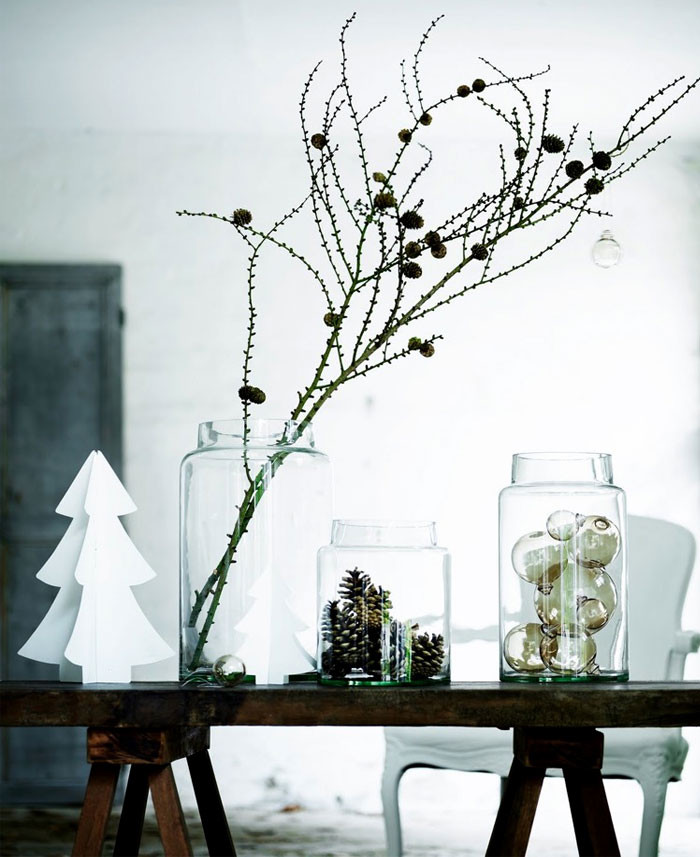 Christmas Decor - DIY - Scandinavian Modern Style
