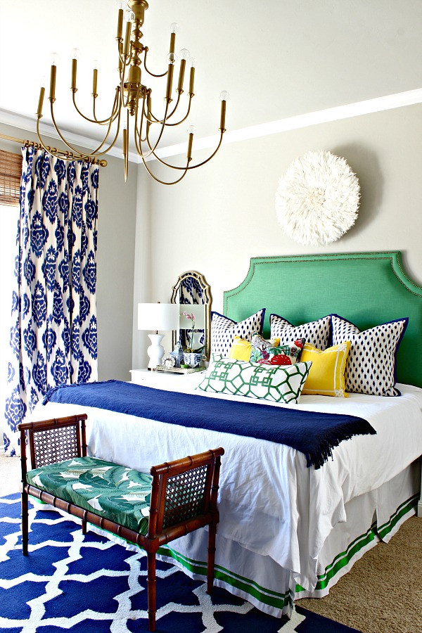 Put A Bench At The End Of Your Bed ~ Who needs a footboard, when a bench will do just fine? It'll help anchor your bed, act as a spot to sit and put shoes on, and might provide much-needed storage.