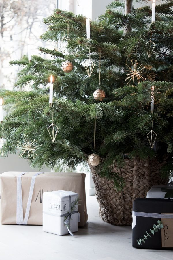 Christmas Decor - Scandinavian Modern Style