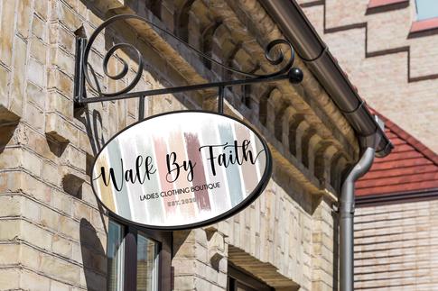 Walk By Faith Boutique Logo