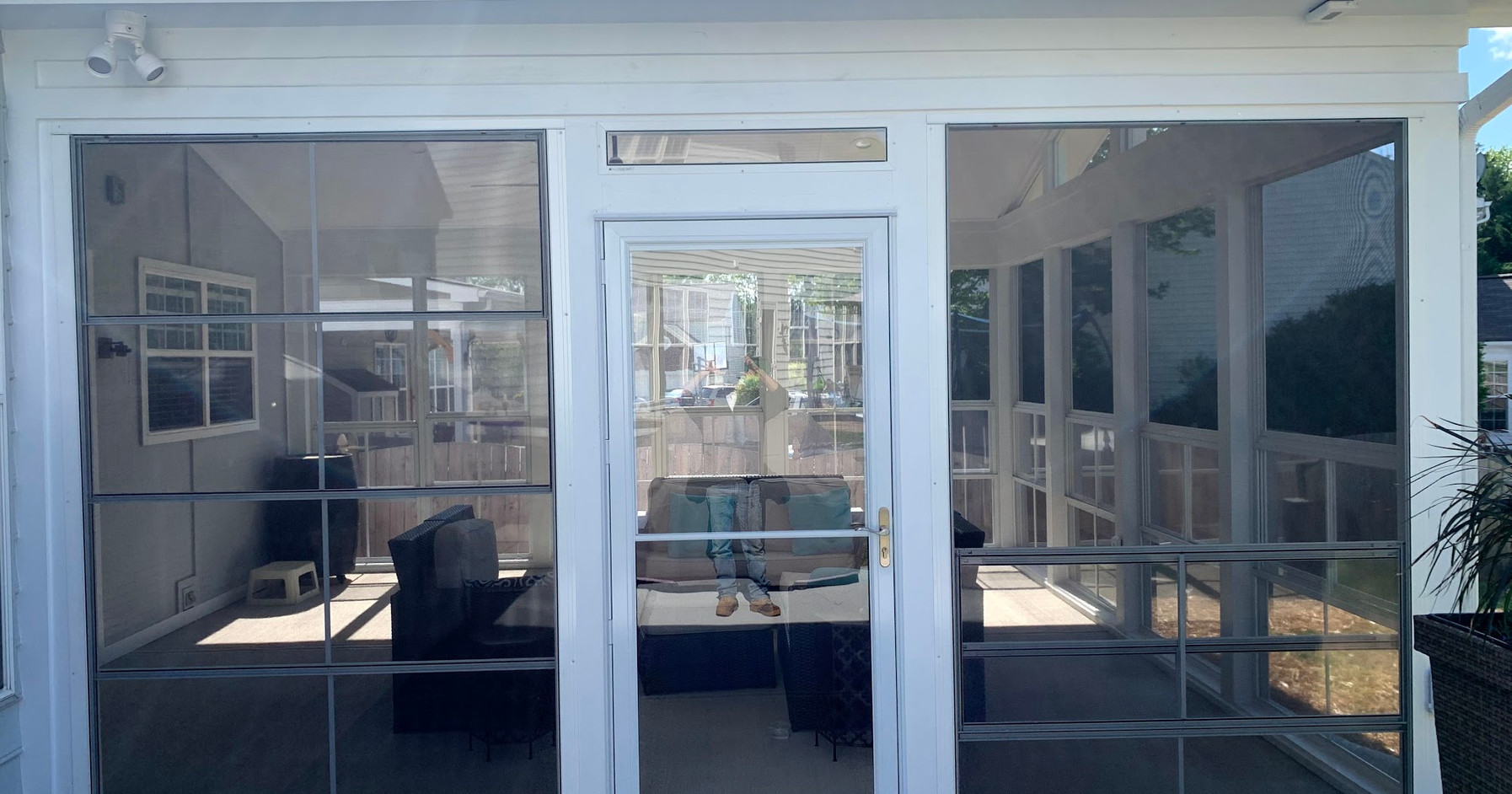 Screened-In Patio Install