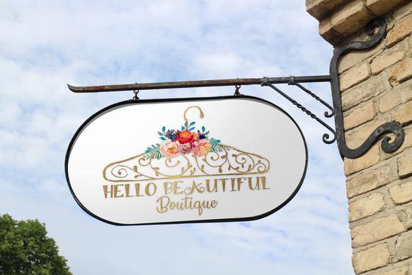 Hello Beautiful Boutique logo