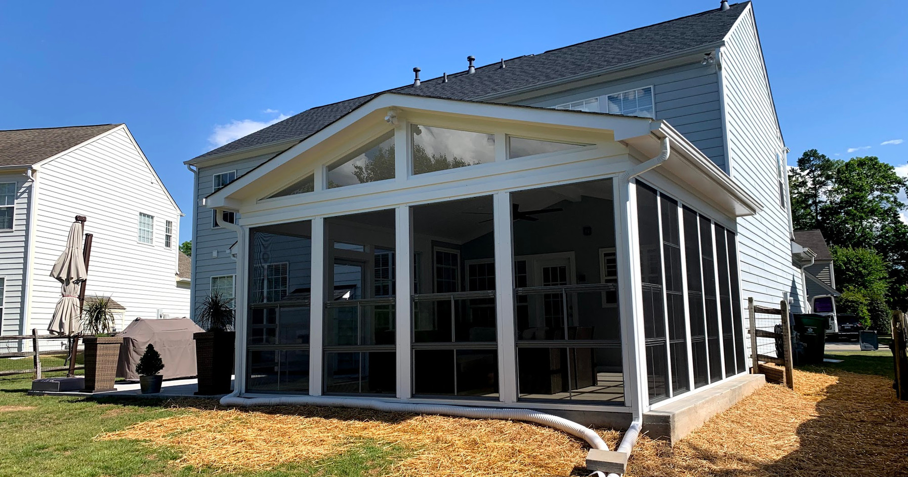 New Screened-In Patio