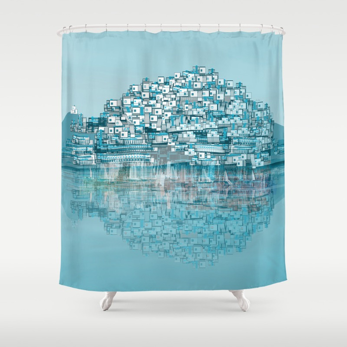 Shower curtain - Cortina de ducha