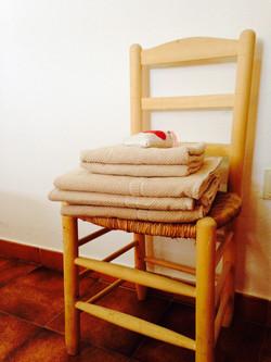 Ropa de cama y toallas incluidas