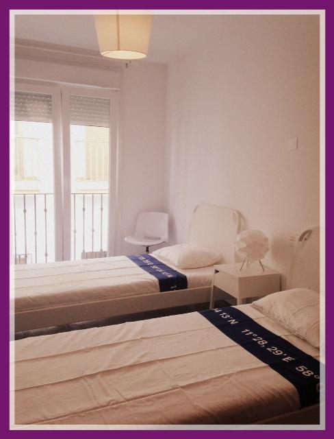 Dormitorio con 2 camas de 90 cm