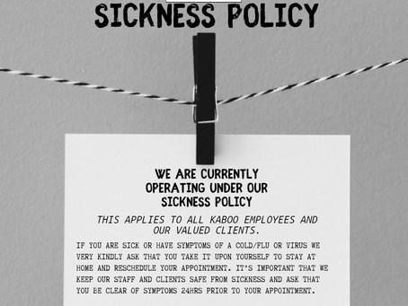 Kaboo Sickness Policy