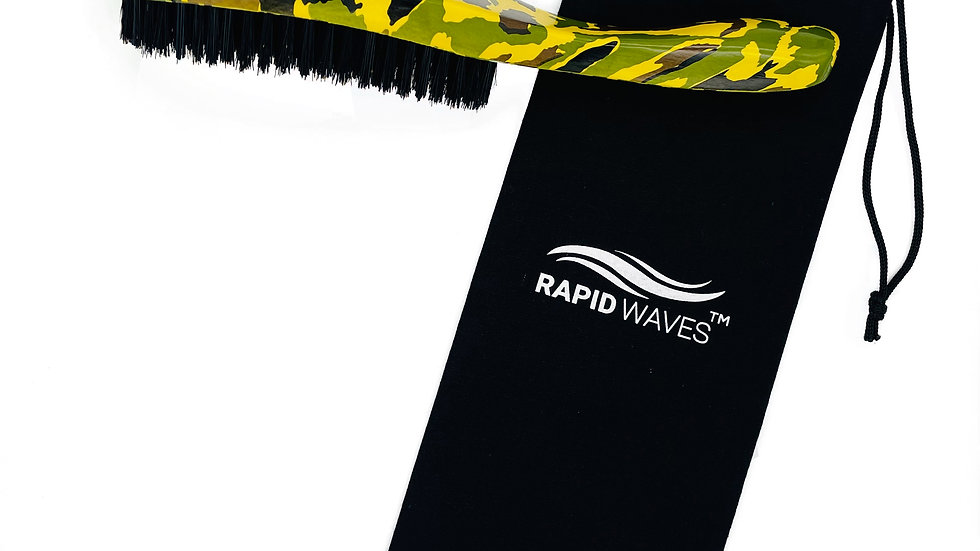 Rapid Waves HARD 360, 540,720 Wavers Handle Brush