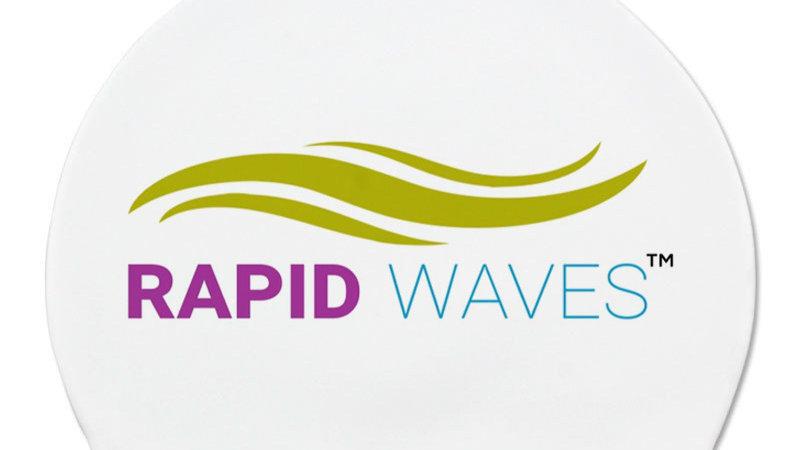Rapid Waves Silicone Swim Cap