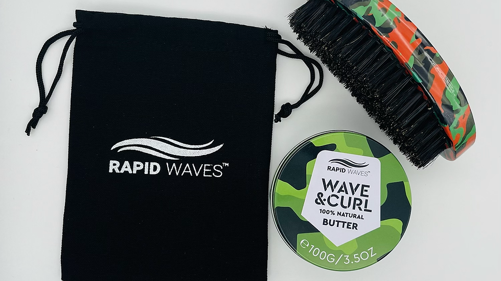 Rapid Waves SOFT, MEDIUM HARD OR HARD Palm Brush plus 1 product