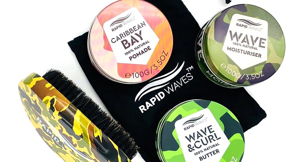 Rapid Waves SOFT Curve Palm Brush