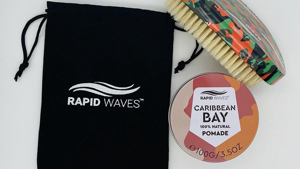 Rapid Waves SOFT Curve Palm Brush
