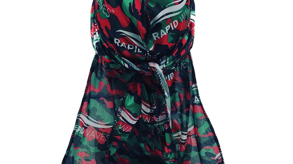 All Rapid Waves Premium Camouflage Designer Durag