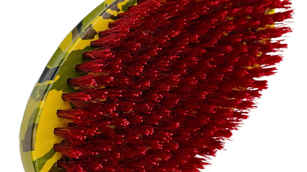 RED BRISTLES  360, 540, 720 Camouflage MEDIUM/HARD Curve Palm