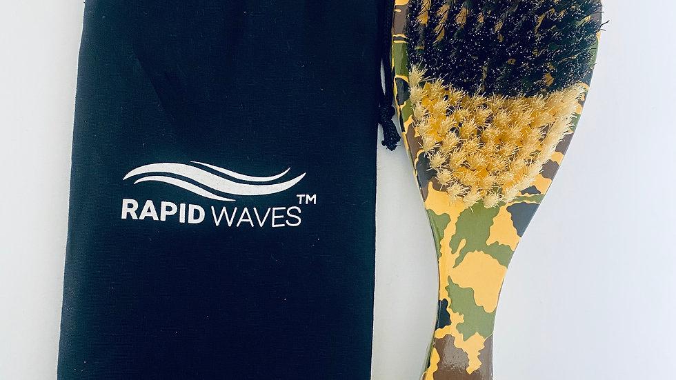 Rapid Waves HYBRID MEDIUM/SOFT  360, 540, 720 Wavers Handle Brush