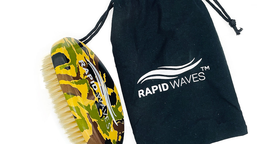 Rapid Waves WHITE SOFT Curve Palm Camouflage