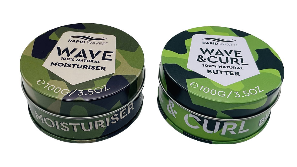 The Hydration Duo - Wave Moisturiser + Wave and Curl Butter