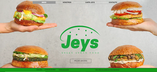 Jeys hamburguesas vegetarianas