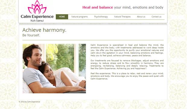 Calm Experience