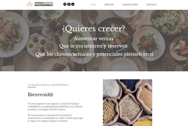 Agencia Digital Gastronómica