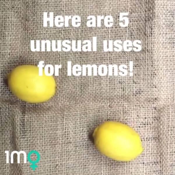 5 Unusual Uses For Lemons