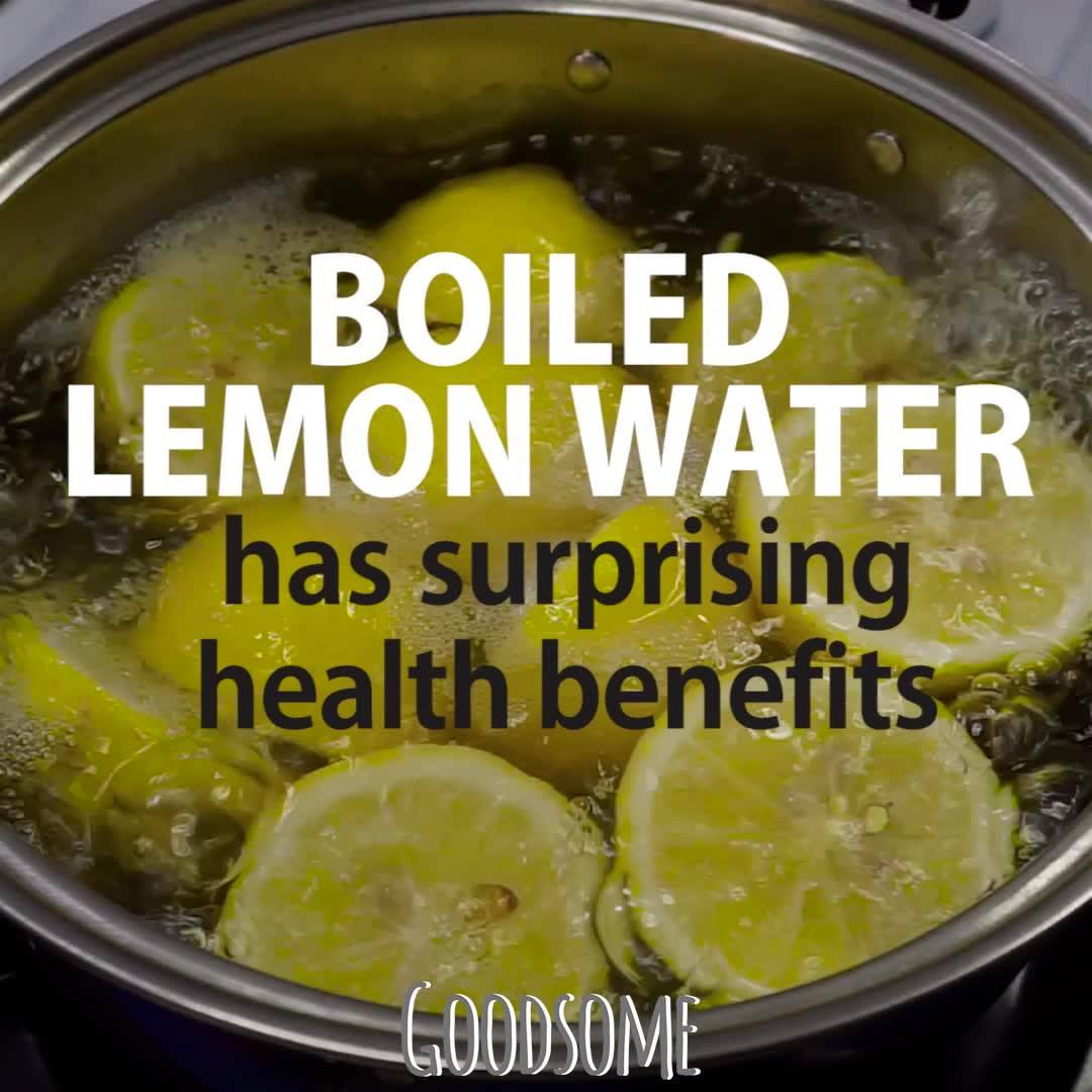 Boiled Lemon Water Has Surprising Benefits